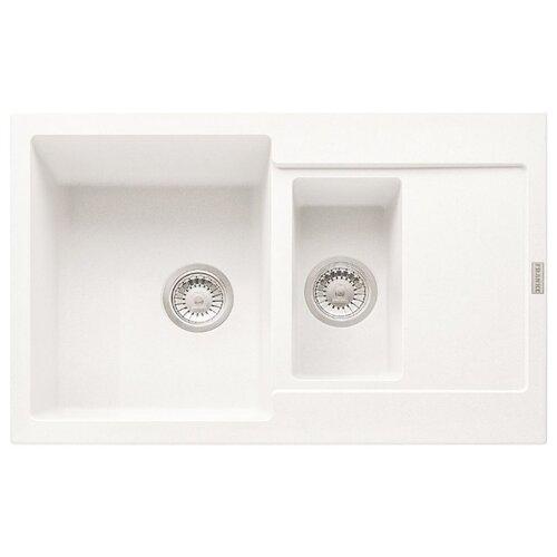 цена на Врезная кухонная мойка 78 см FRANKE MRG 651-78 белый