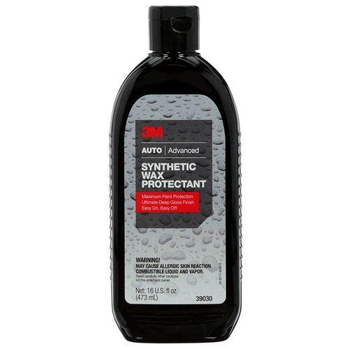 Воск для автомобиля 3M жидкий Synthetic Wax Protectant 39030 0.47 л