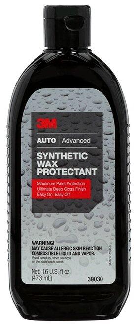 Воск для автомобиля 3M жидкий Synthetic Wax Protectant 39030