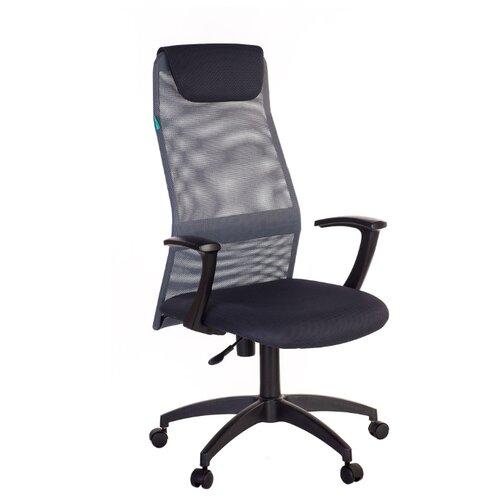 Компьютерное кресло Бюрократ KB-8N для руководителя, обивка: текстиль, цвет: серый
