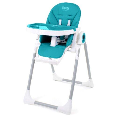 Стульчик для кормления Nuovita Grande turchese стульчик для кормления babys piggy розовый