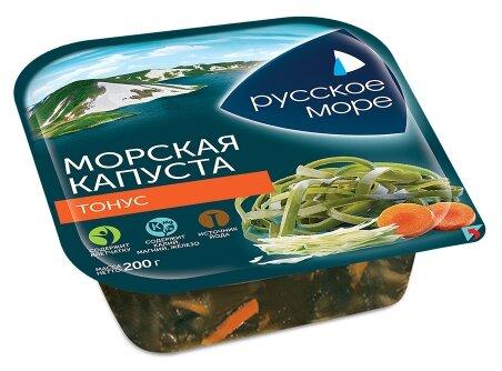 Русское Море Морская капуста маринованная Тонус