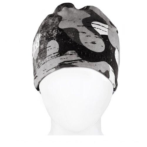 Шапка Reike размер 52, серый шапка шлем reike размер 50 серый