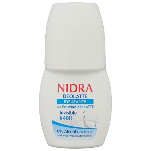 Дезодорант ролик Nidra Deolatte Idratante с молочными протеинами, 50 млДезодоранты<br>