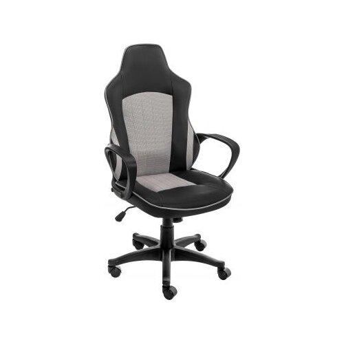 Компьютерное кресло Woodville Kari офисное, обивка: текстиль/искусственная кожа, цвет: черный/серый набор аэропорт kari 11 предм bt908951a kari