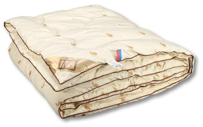 Одеяло АльВиТек Сахара, очень теплое, 140 х 205 см (светло-коричневый)