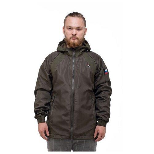 Фото - Демисезонная куртка для рыбалки и охоты ТАЙГАН Альфа, хаки, размер 54 пуховик superdry хаки 54 размер