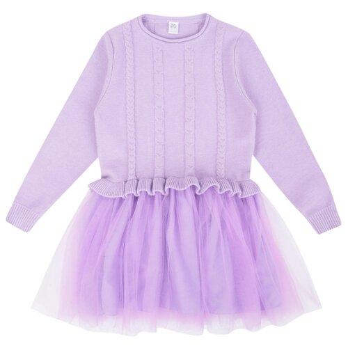 Купить Платье Fun time размер 122, лиловый, Платья и сарафаны