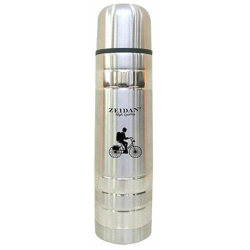 Классический термос Zeidan Z9047, 1 л серебристый