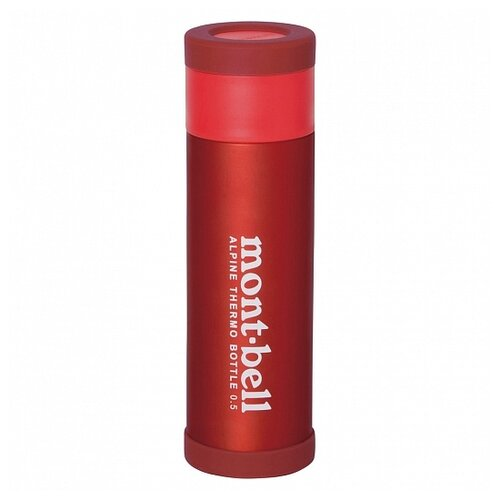 MontBell термос Alpine Thermo Bottle 0.5л RD