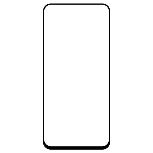 Krutoff / Стекло защитное Full Glue для Samsung Galaxy A80 черное (Самсунг Гелокси А80) черное