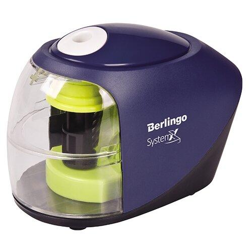 Купить Berlingo Точилка электрическая SystemX синий/зеленый, Точилки