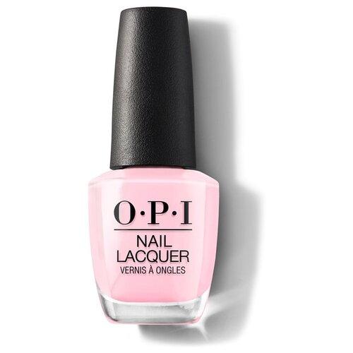 Лак OPI Nail Lacquer Classics, 15 мл, оттенок Suzi Shops & Island Hops opi gelcolor suzi shops and islnd hops гель лак 15 мл
