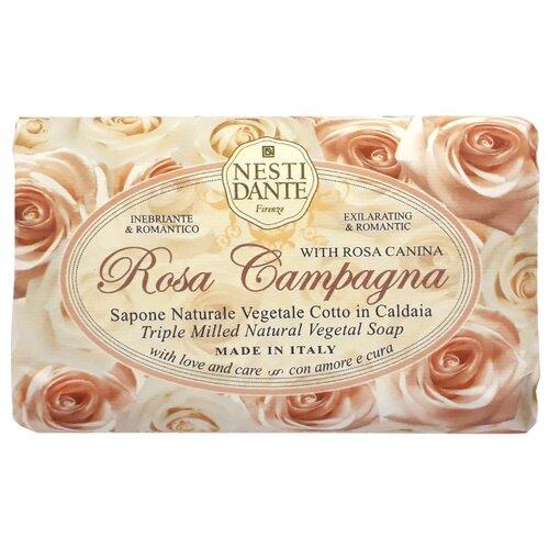 Мыло кусковое Nesti Dante Le Rose Rosa Campagna, 150 г