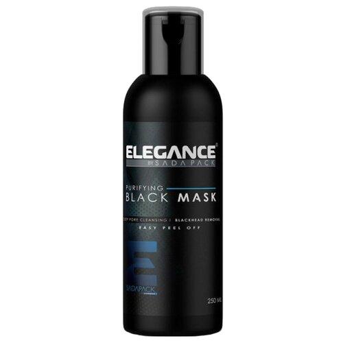 Elegance Маска пленка черная очищающая Black Peel-Off Facial Mask, 250 мл пленка