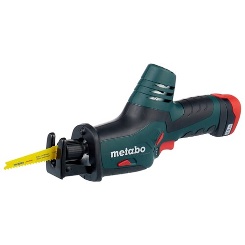 Пила Metabo ASE 10.8 2.0Ah x2 Case пила metabo powermaxx ase 10 8 2x4 0 liion metal 602264750