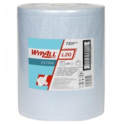Нетканый протирочный материал Wypall L20 7301, голубой по цене 2 590