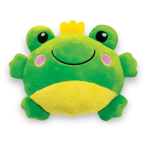 Развивающая игрушка Азбукварик Люленьки Плюшики Лягушка зеленый фото