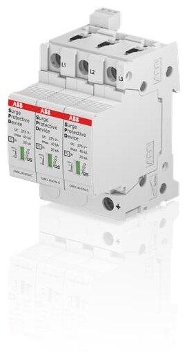 Устройство защиты от перенапряжения для систем энергоснабжения ABB 2CTB815704R0600