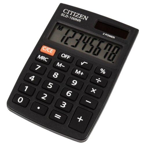 Купить Калькулятор карманный CITIZEN SLD-100NR черный
