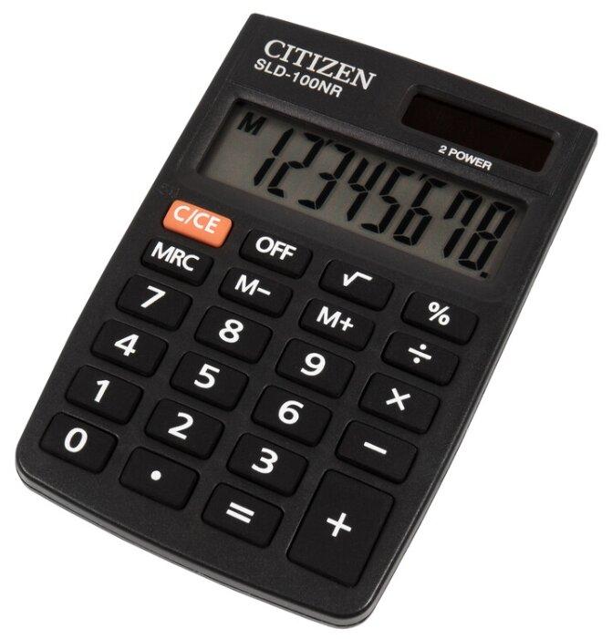 Калькулятор карманный CITIZEN SLD-100NR