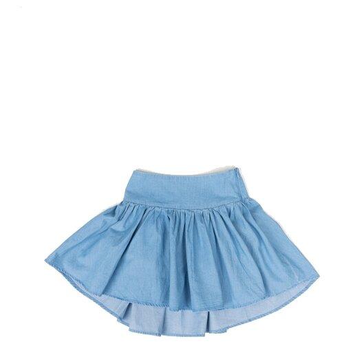Купить Юбка Button Blue размер 98, голубой, Юбки