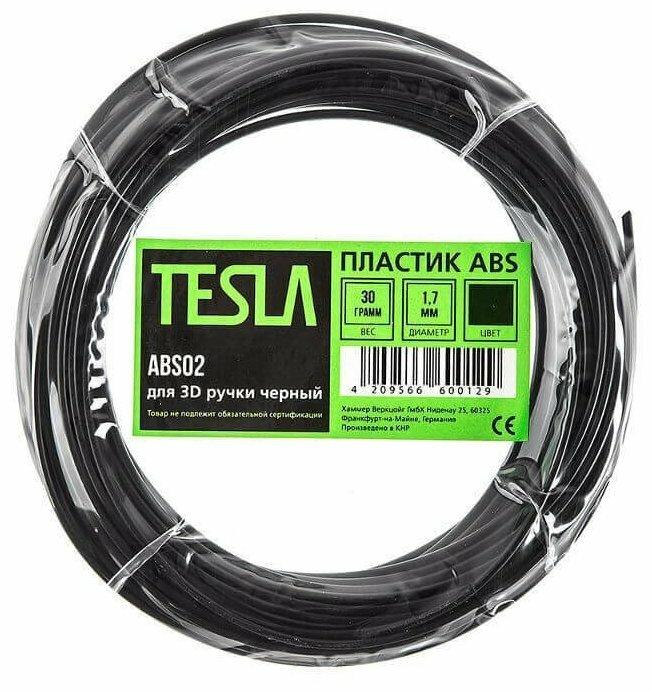ABS пруток TESLA 1.70 мм черный