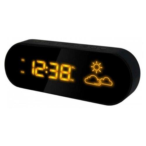 Метеостанция BVItech BV-42 черный / желтый часы электронные bvitech bv 103b черный