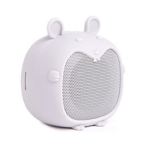 Купить Портативная акустика Atom BS-02 mouse светло-серый