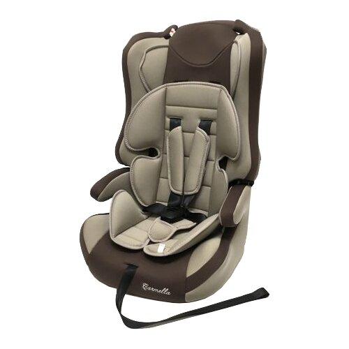 Автокресло группа 1/2/3 (9-36 кг) Carmella 513 RF, beige/brown группа 1 2 3 от 9 до 36 кг carmella 513 rf и protectionbaby защитная накидка на спинку переднего сиденья автомобиля