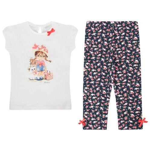Купить Комплект одежды Leader Kids размер 122, белый/черный, Комплекты и форма