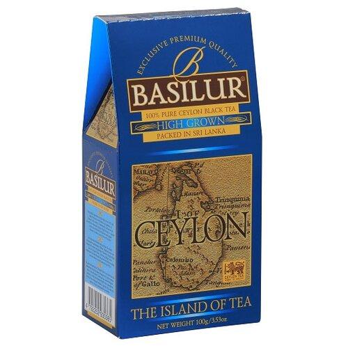Чай черный Basilur The island of tea Ceylon High Grown , 100 г basilur tea book v черный листовой чай 100 г жестяная банка