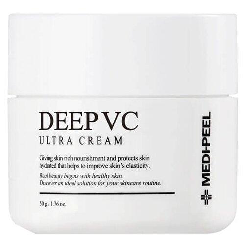 Купить MEDI-PEEL Dr.Deep VC Ultra Cream Мультивитаминный крем для лица выравнивающий тон кожи, 50 г