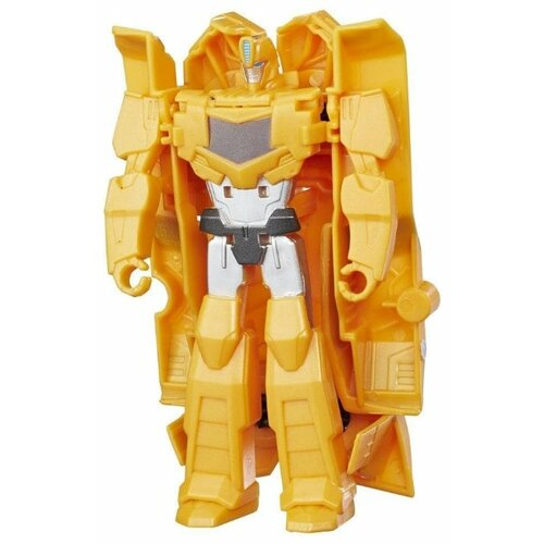 цена на Трансформер Hasbro Transformers Бамблби. Уан-Стэп (Роботы под прикрытием) C0646 желтый