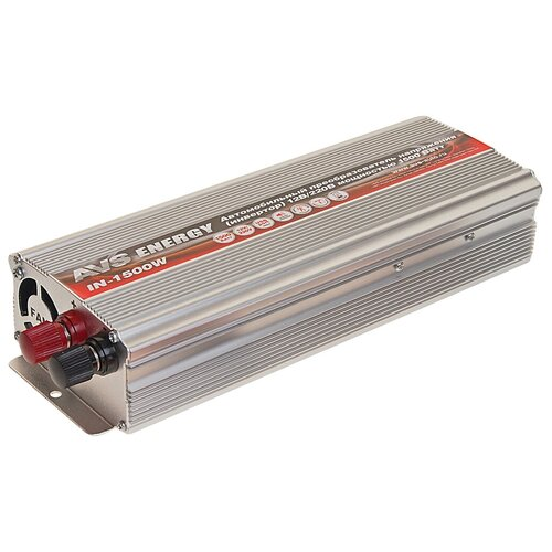 Инвертор AVS IN-1500W серебристый экран avs sh 308b универсальные серебристый 1 шт