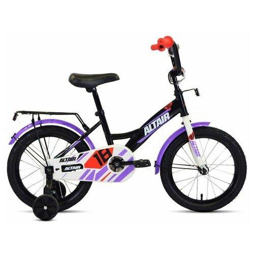 Детский велосипед ALTAIR Kids 18 (2020) черный/белый (требует финальной сборки)