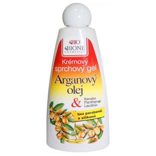 Гель для душа Bione Cosmetics с аргановым маслом и маслом ши, 260 мл bione cosmetics шампунь exclusive q10 260 мл