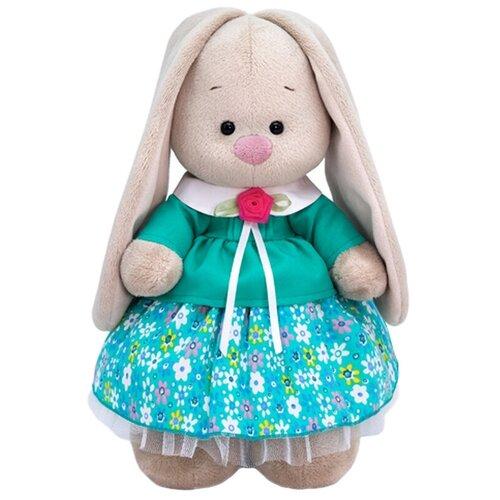 Фото - Мягкая игрушка Зайка Ми в бирюзовой курточке 25 см мягкая игрушка зайка ми в лиловом 23 см