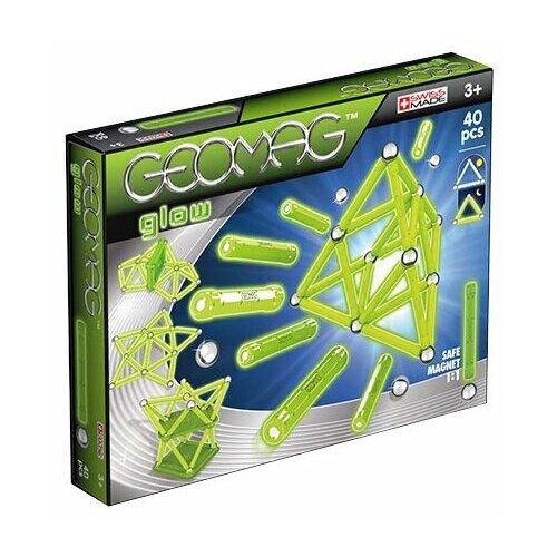 Купить Магнитный конструктор GEOMAG GLOW 330-40, Конструкторы