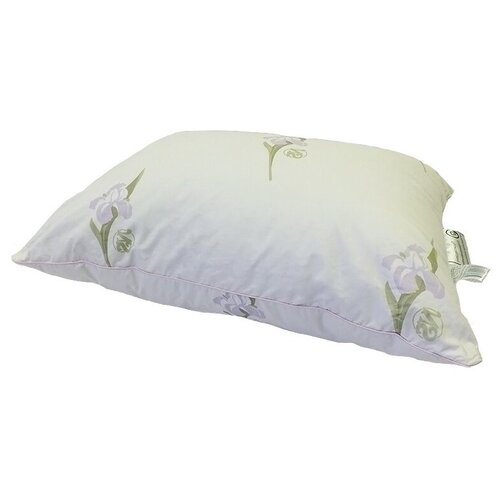 Подушка Nature's Царственный Ирис, ЦИ-П-5-2 68 х 68 см белый