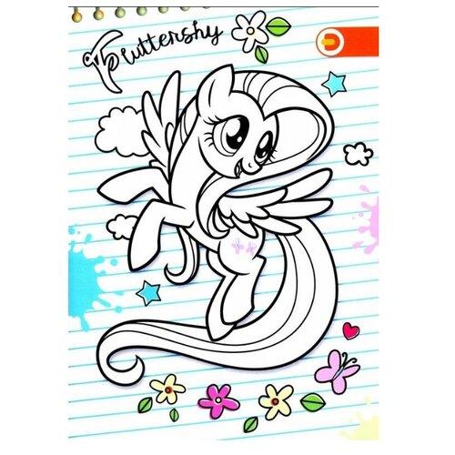 DEVAR Раскраска. My Little Pony. Все краски Понивилля, Раскраски  - купить со скидкой