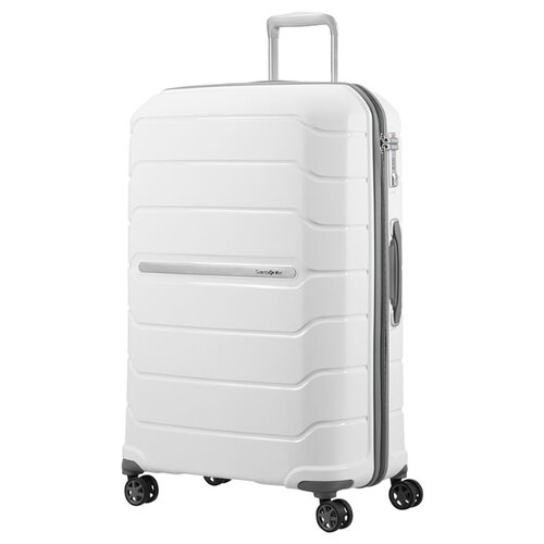 Чемодан Samsonite Flux L 111 л, Белый/White чемодан samsonite s cure s 34 л