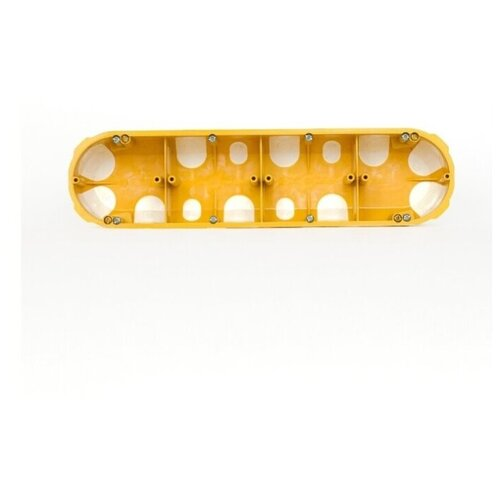 Kopos 50. Четырехместный герметичный подрозетник, герметичный упаковка 25 шт