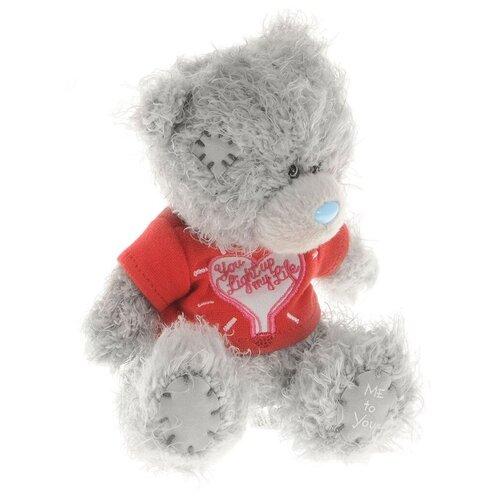 Мягкая игрушка Me to you Мишка Тедди в футболке You light up my life 13 см