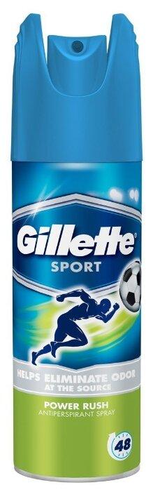 Дезодорант-антиперспирант спрей Gillette Power Rush