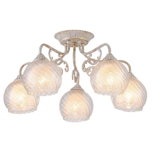 Люстра Arte Lamp Charlotte A7062PL-5WG, E27, 300 Вт