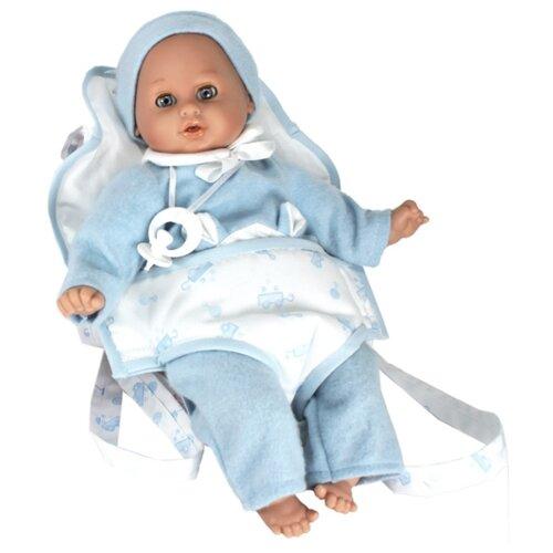 Купить Интерактивный пупс Lamagik Лукас в детской переноске, 30 см, 35005C, Куклы и пупсы