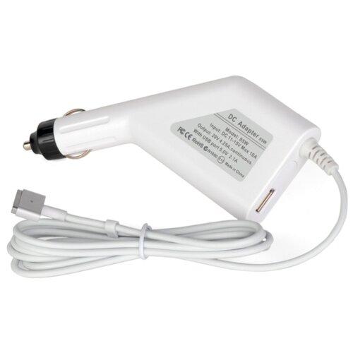 Автомобильный адаптер (зарядка) для ноутбука Apple 20V, 4.25A (85W), штекер: Magsafe 2, (В автомобильную розетку 12В), PN:MD506Z/A