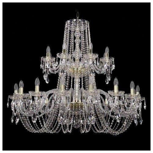 Люстра Bohemia Ivele Crystal 1402 1402/16+8/400/2d/G, 960 Вт bohemia ivele crystal 1402 1402 16 400 g 640 вт