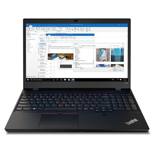 "Ноутбук Lenovo ThinkPad T15p Gen 1 (Intel Core i5 10300H 2500MHz/15.6""/1920x1080/8GB/256GB SSD/Intel UHD Graphics/Windows 10 Pro) 20TN0015RT черный"